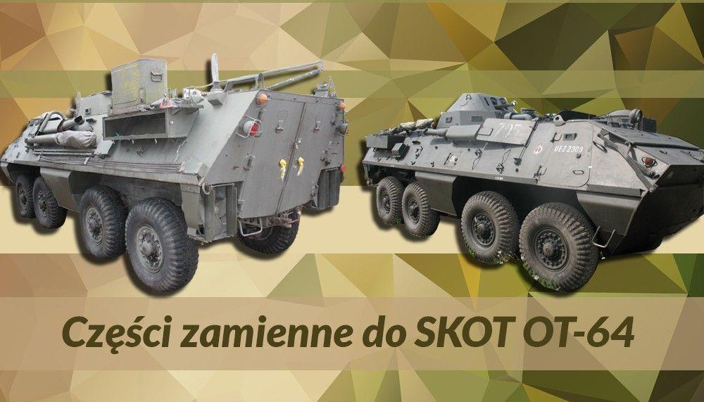 Części zamienne do Skot OT-64